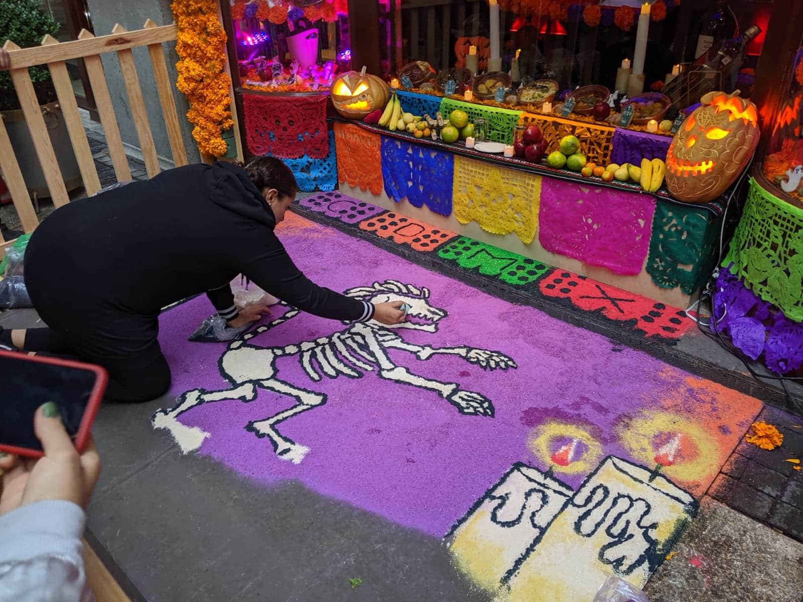 Dia de Muertos Workshop in Mazatlan