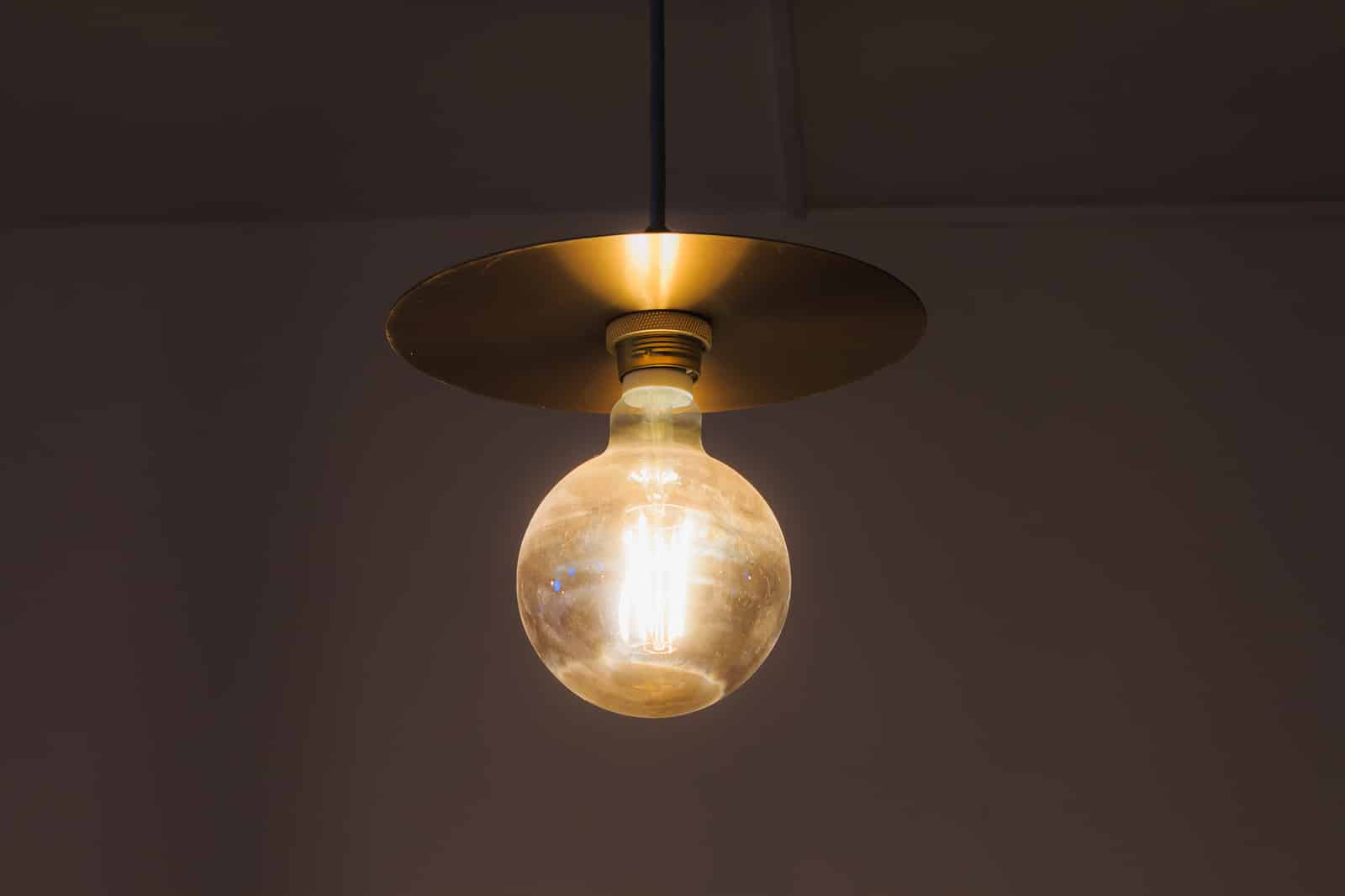 big light bulb