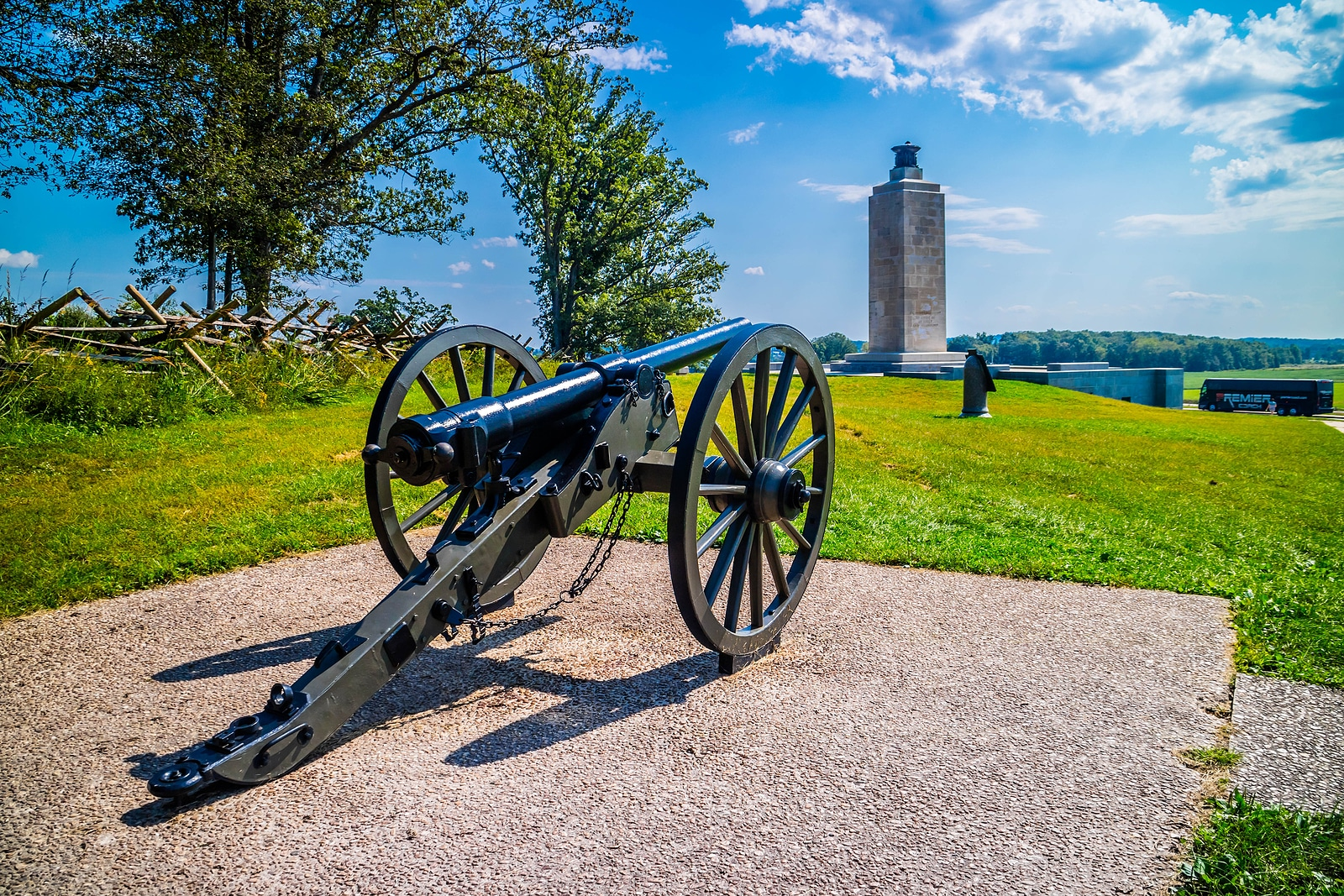 The Gettysburg National Military Park - Top Historical Attractions in Gettysburg