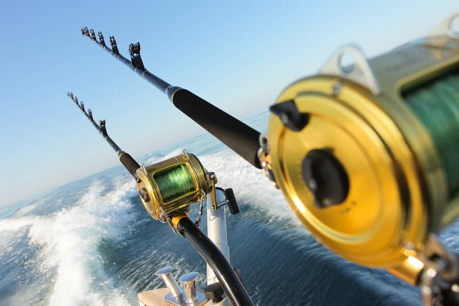 big game fishing reels