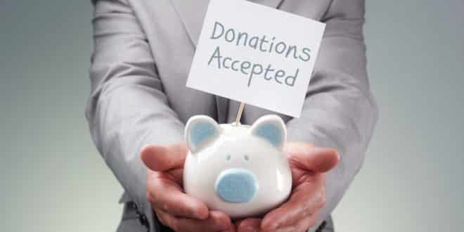 How to donate to charity
