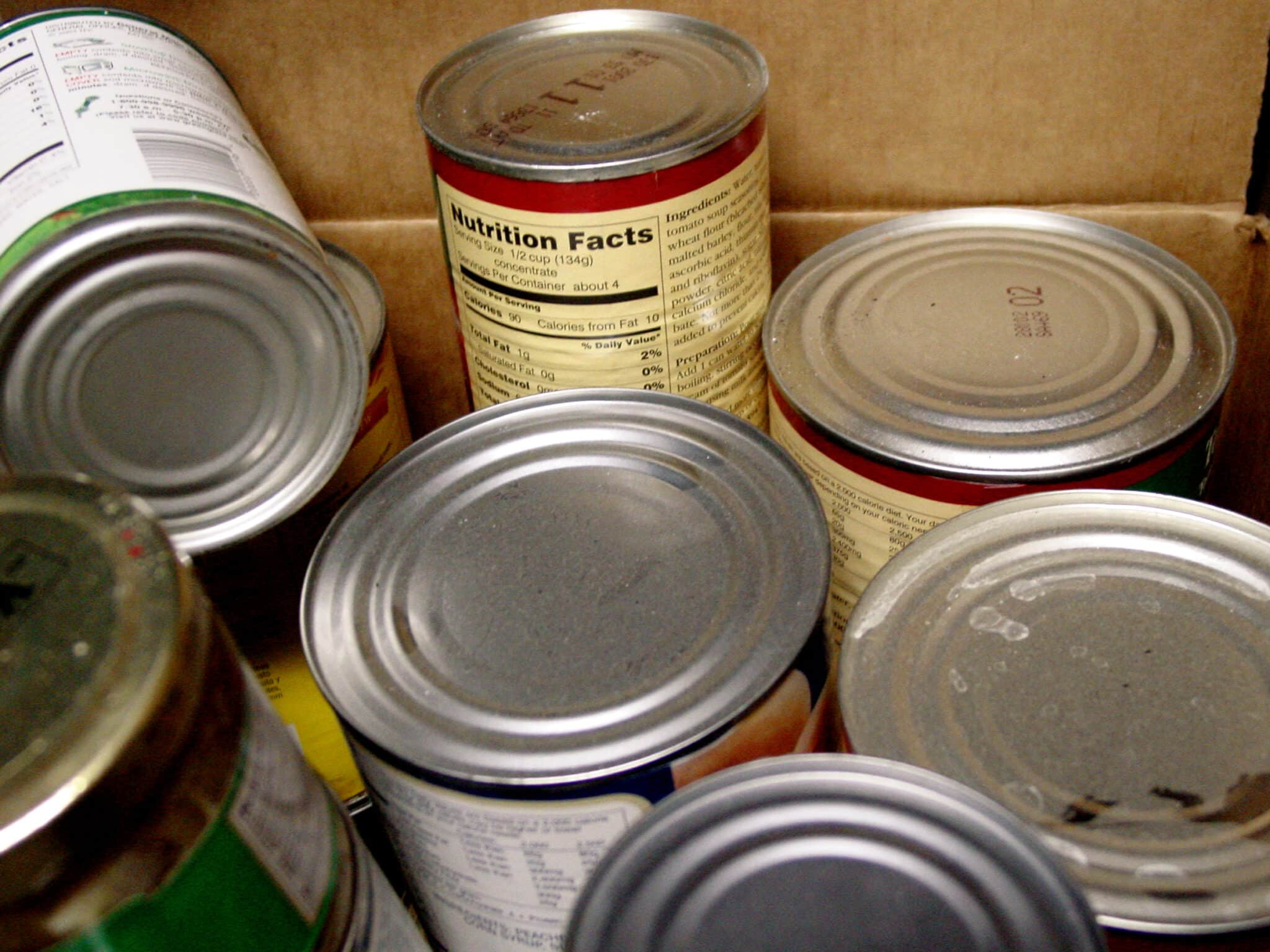 canned goods, Foods that Can be Eaten after Expired