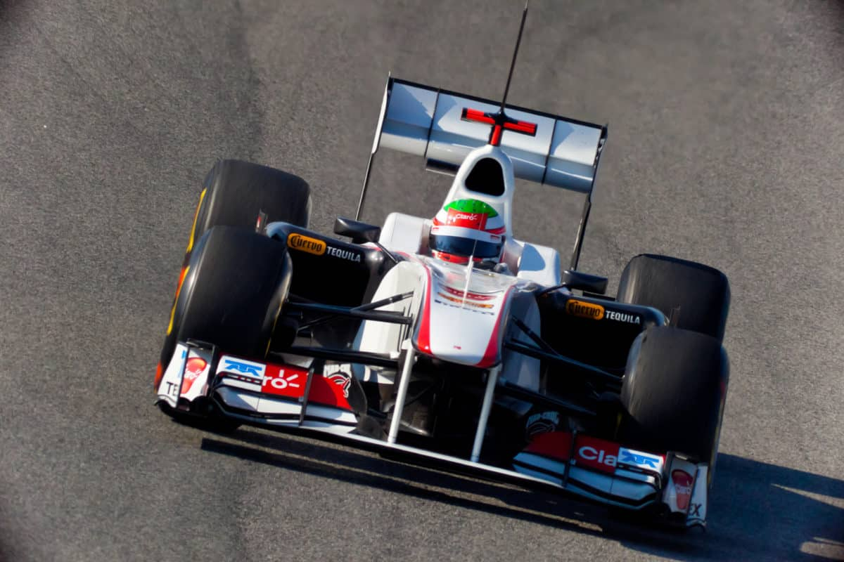 Mexican racer Sergio Pérez