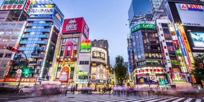 Total Access Travels Visits Tokyo