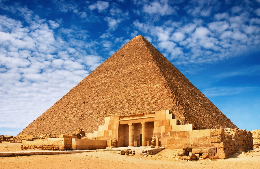 The Great Pyramids of Egypt a Unesco World Heritage Site