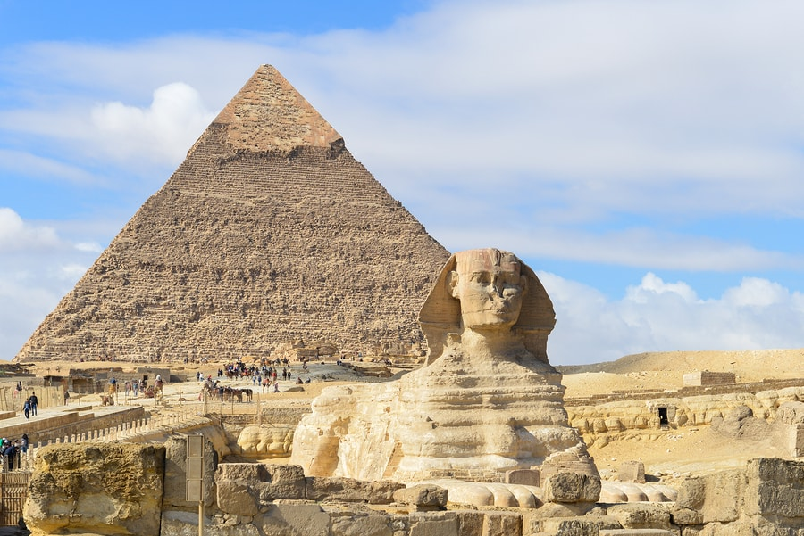 The Great Pyramids of Egypt - World Wonders