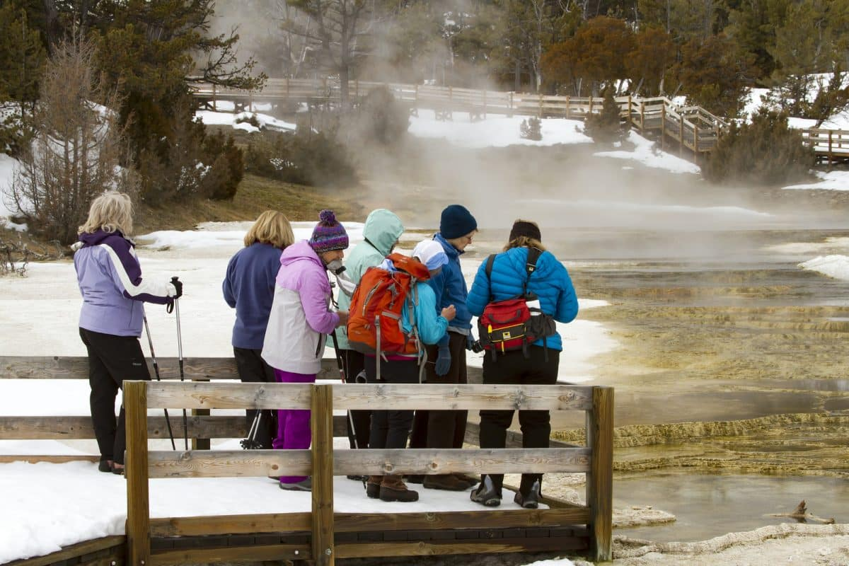 A Winter Trip to Yellowstone National Park