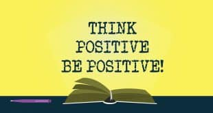 """""""Positivity"""" is the only way UP 1"""