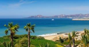 Beach and coastline of Cabo San Lucas Mexico