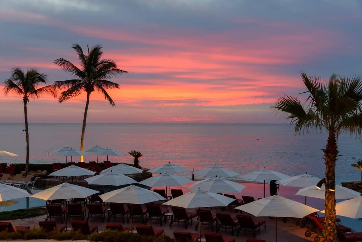 Sunrise at Cabo San Lucas,