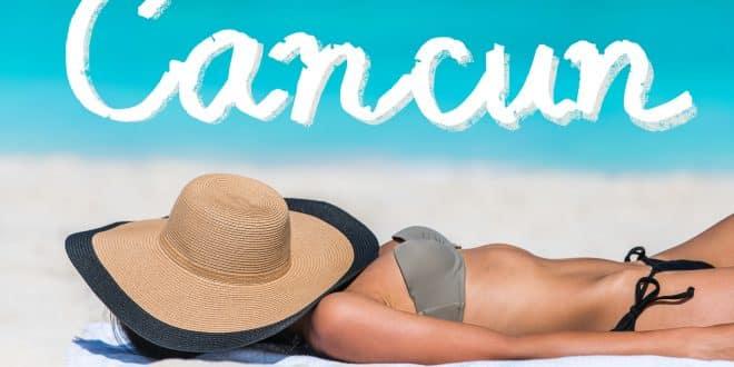 Mexico beach travel bikini