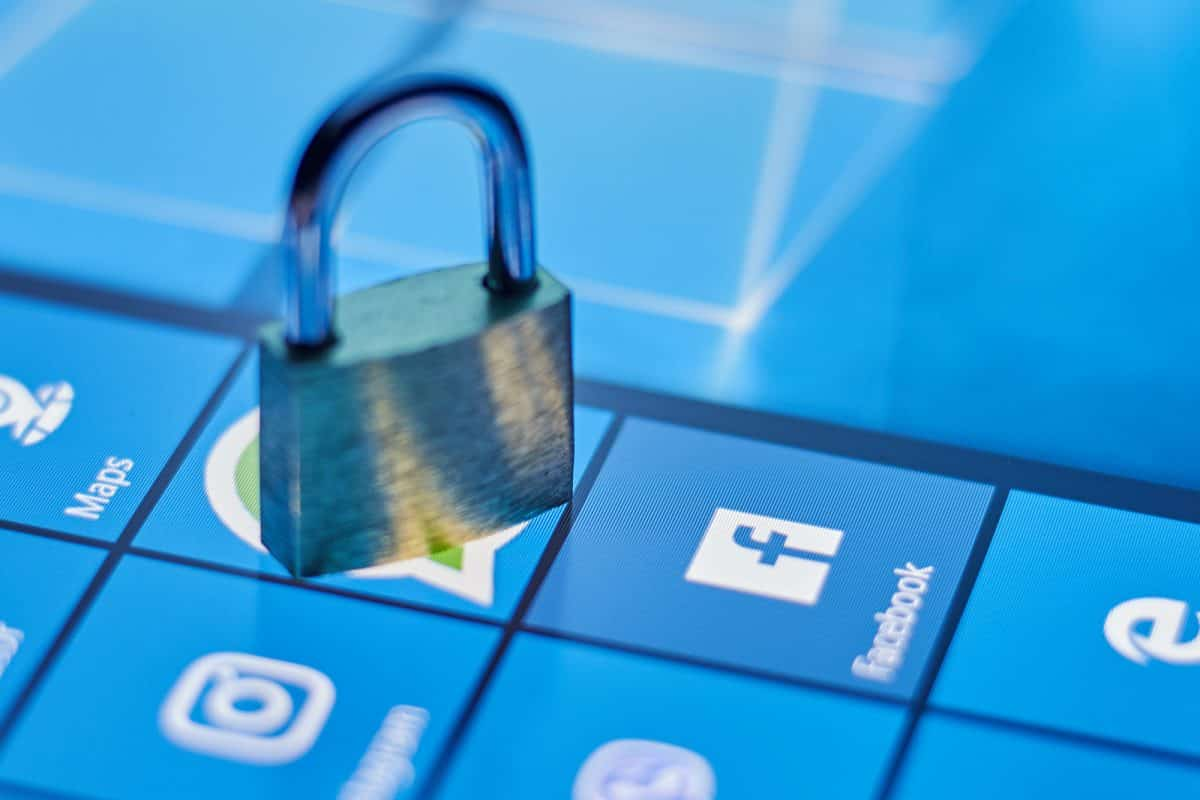 Security social networks