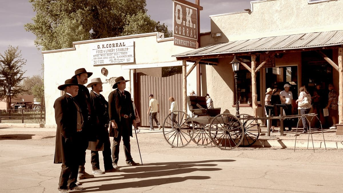 OK Corral in Tombstone