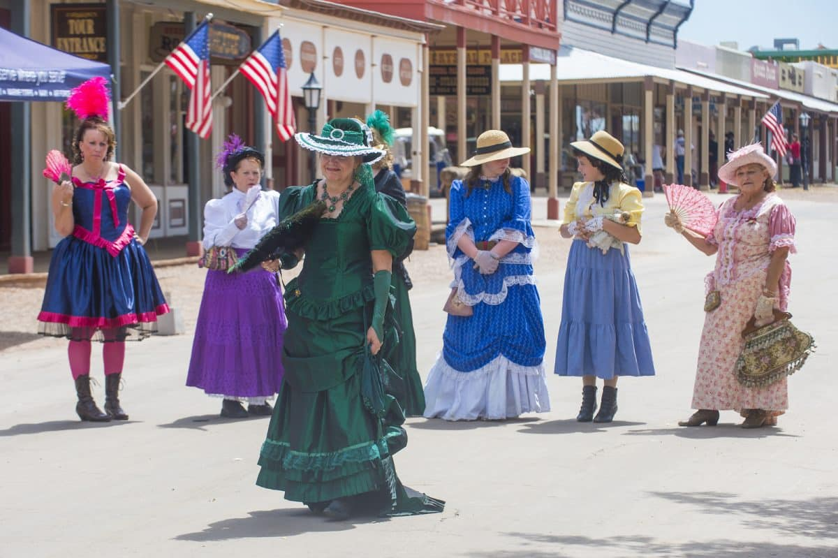 Vigilantes dedicated to keeping the historical town of Tombstone alive