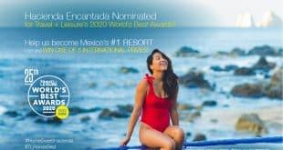 Hacienda Encantada Nominated As Mexico's Top Resort