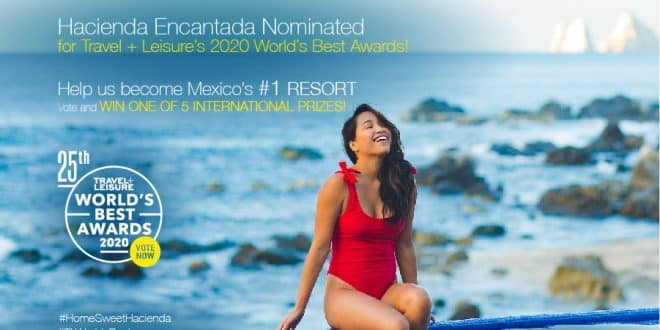 Hacienda Encantada Nominated As Mexico's Top Resort