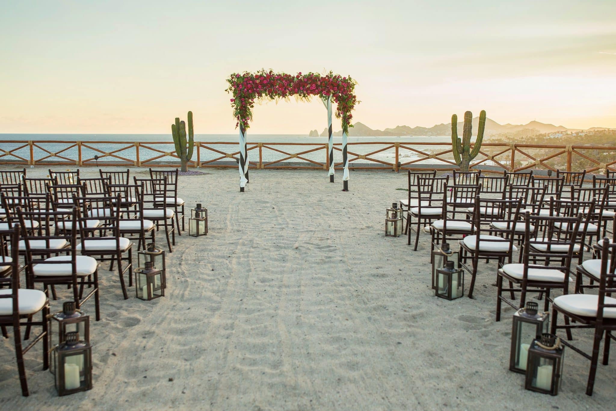 beach wedding Cabo San Lucas