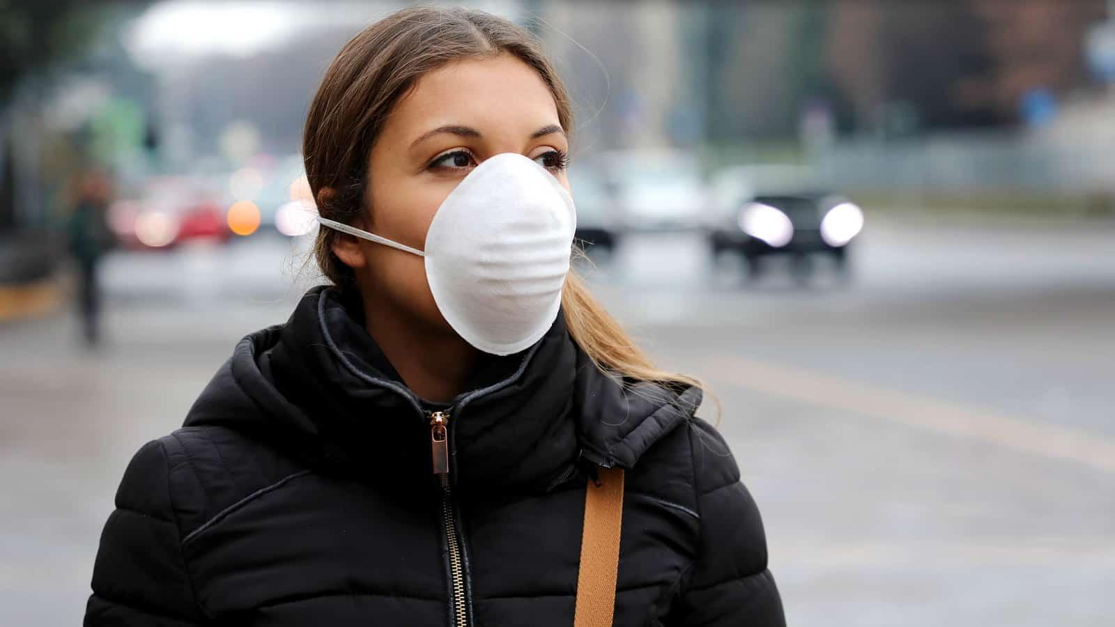 face mask virus