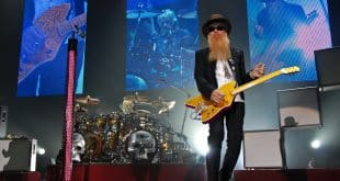 ZZ Top Performing Live part of the Double Down Live World Tour