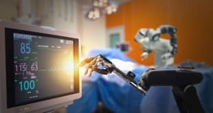 Robotic surgery operating,