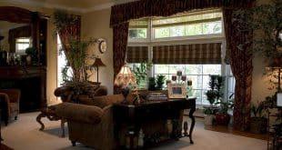 elegant tuscan style living room