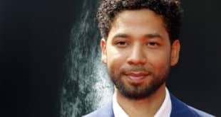 Jussie Smollett at the Los Angeles special screening of 'Alien