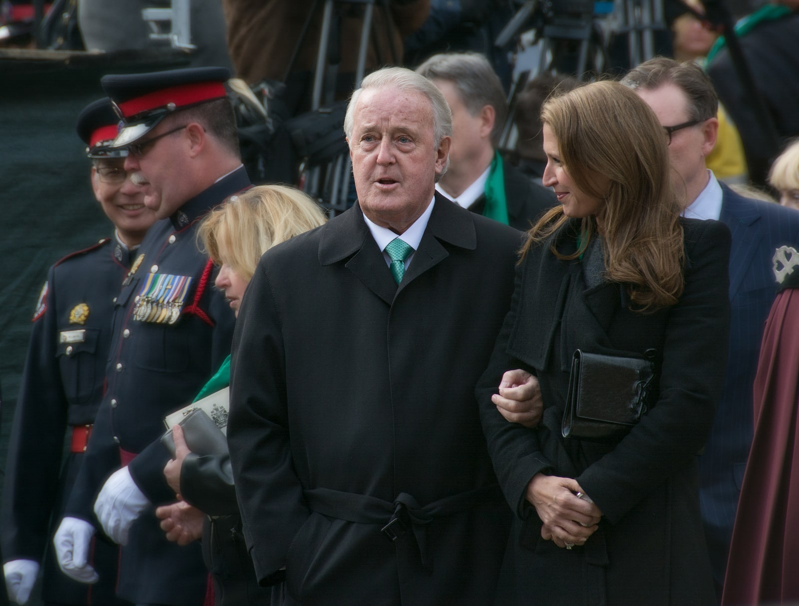 Brian Mulroney former Prime Minister of Canada