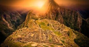 Machu Picchu in Peru. South America.