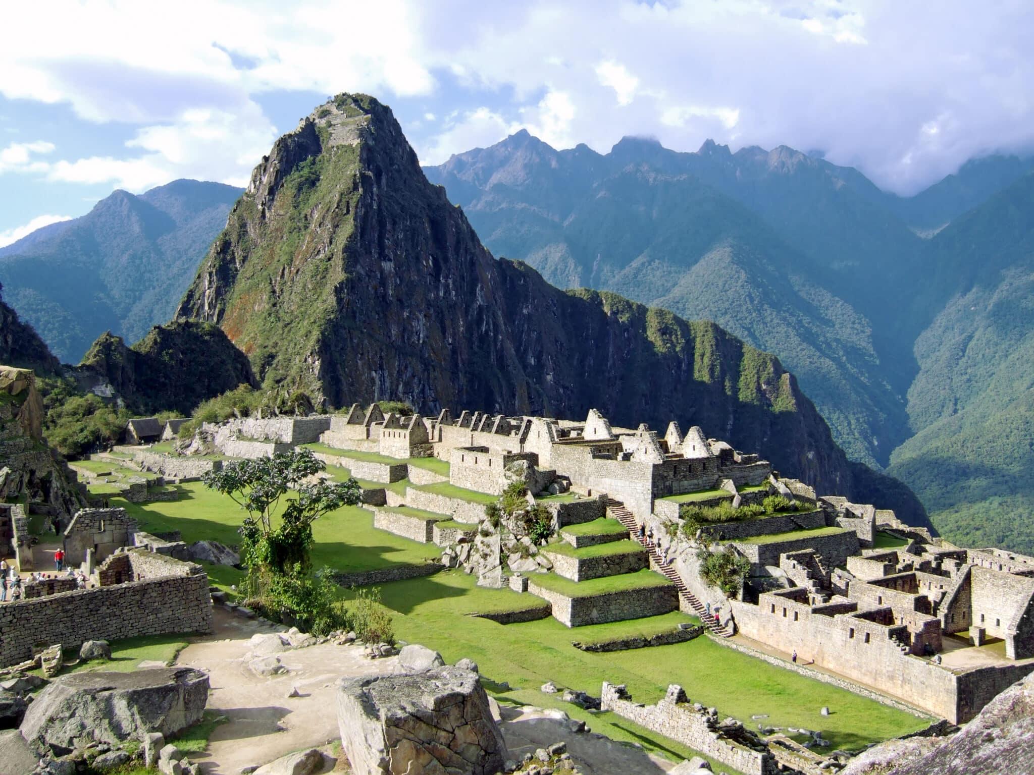 View of the Lost Incan City of Machu Picchu near Cusco Peru. provided by Resprt Weeks Club