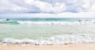 Tropical beaches of Riviera Maya near Cancun