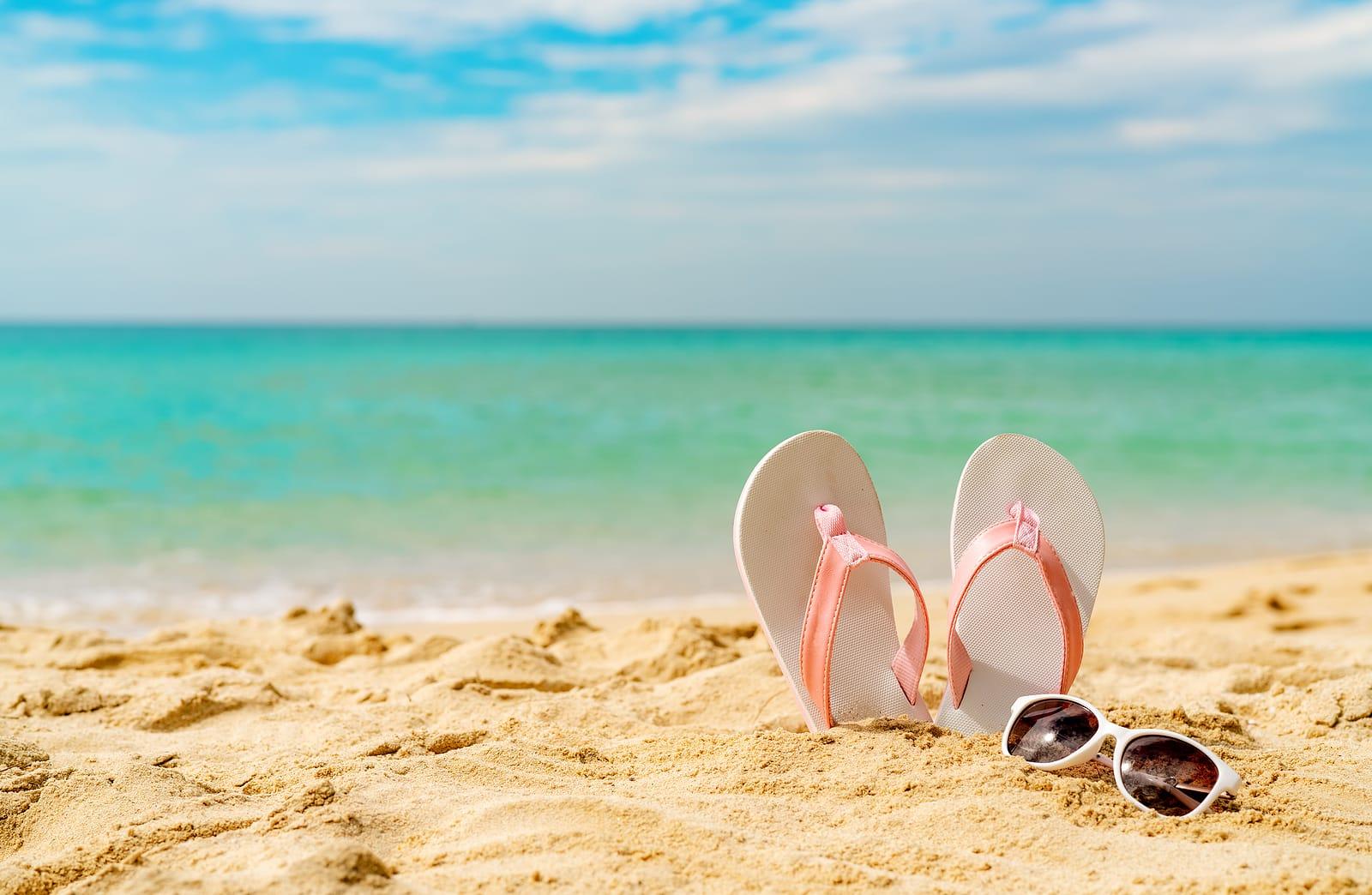sand beach via Astuto Travel