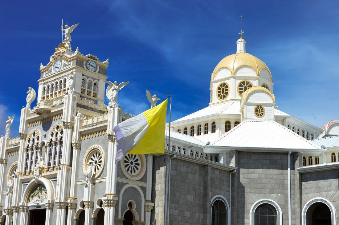 The Basilica de Nuestra Senora de los Angeles