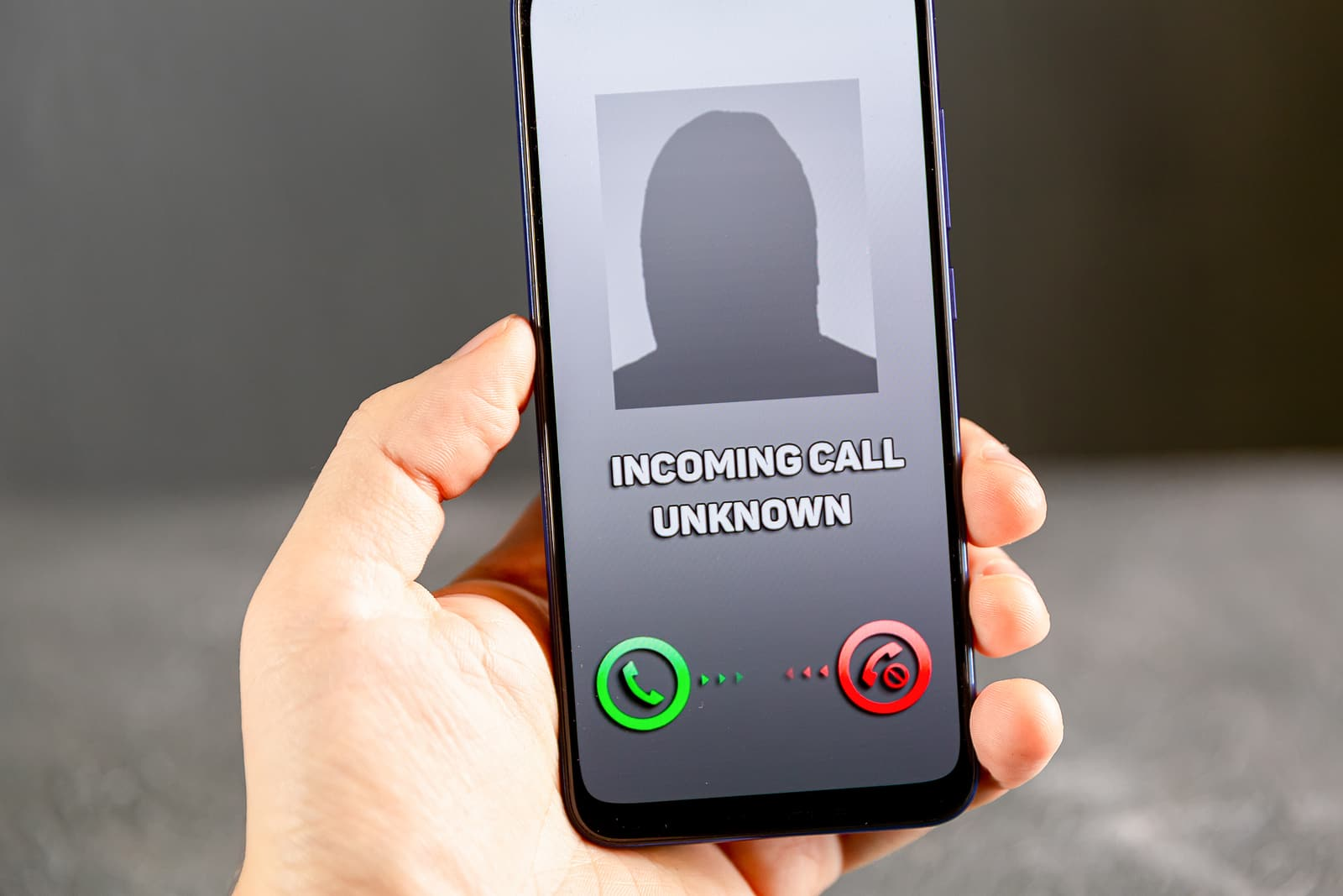 Phone call from unknown numbe - stimulus check scam