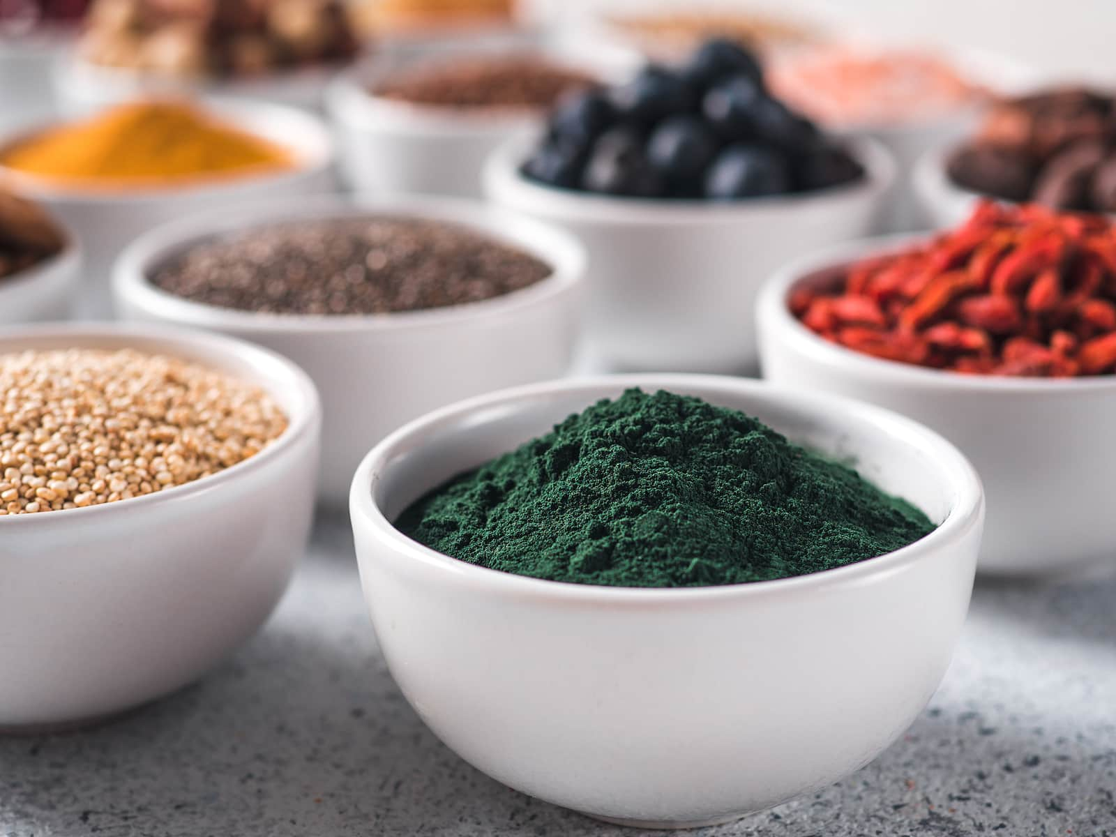 Spirulina powder - Top 7 Superfoods to Add to your Smoothie