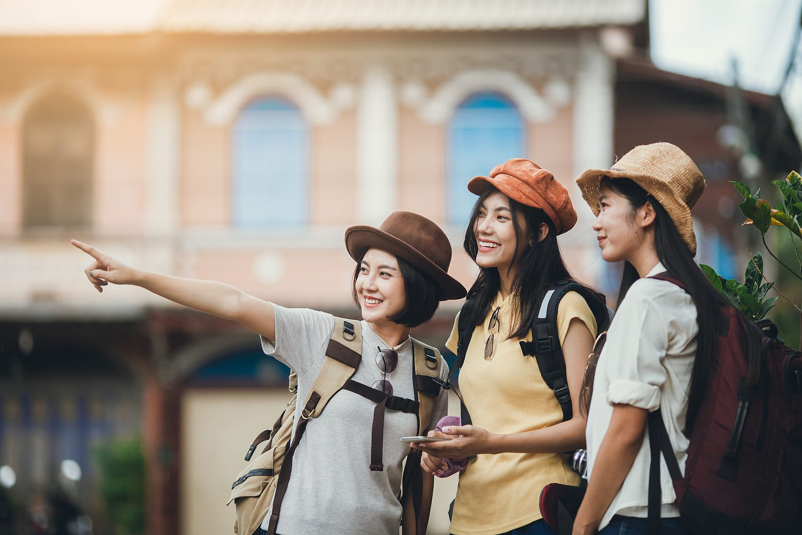 woman group backpacker - Millennial Buying Trends