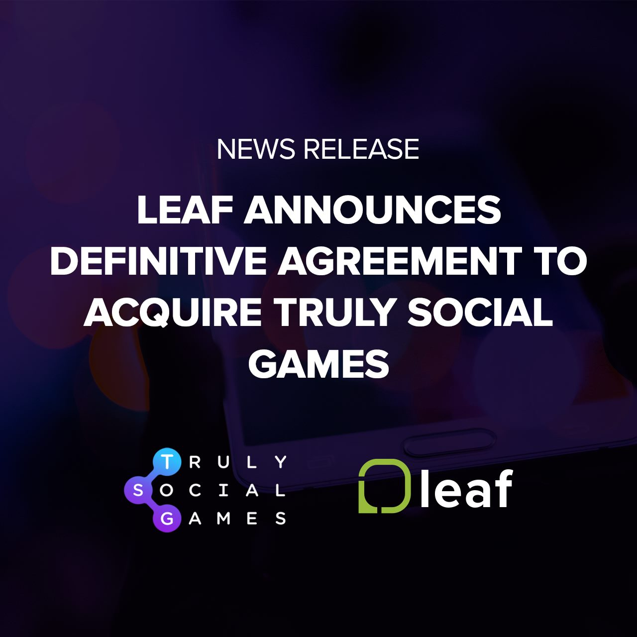 Cooper DuBois Portland CEO Announces Leaf Mobile Acquiring TSG (1)