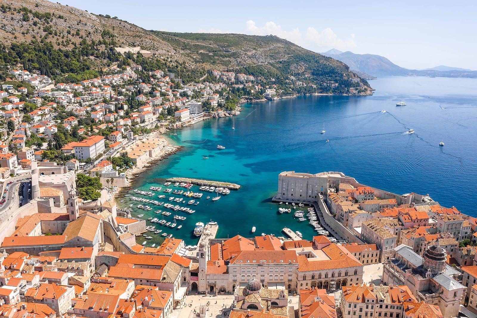 Old Port in Dubrovnik - Best Time to Visit Croatia