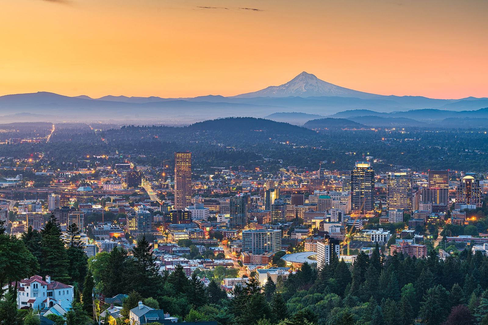 Portland, Oregon by Cooper DuBois