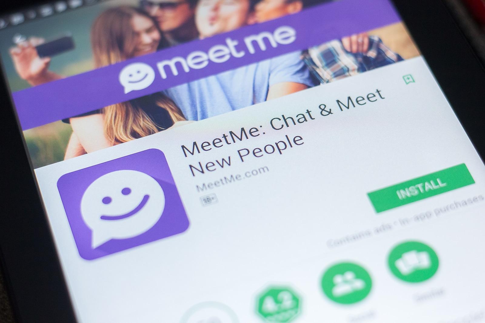 MeetMe mobile app