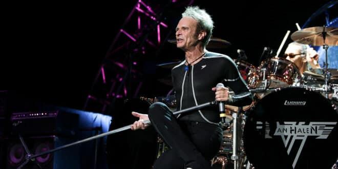 David Lee Roth of Van Halen performs onstage at Jones Beach Theater