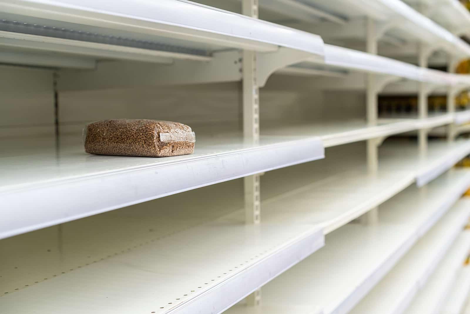 empty grocery
