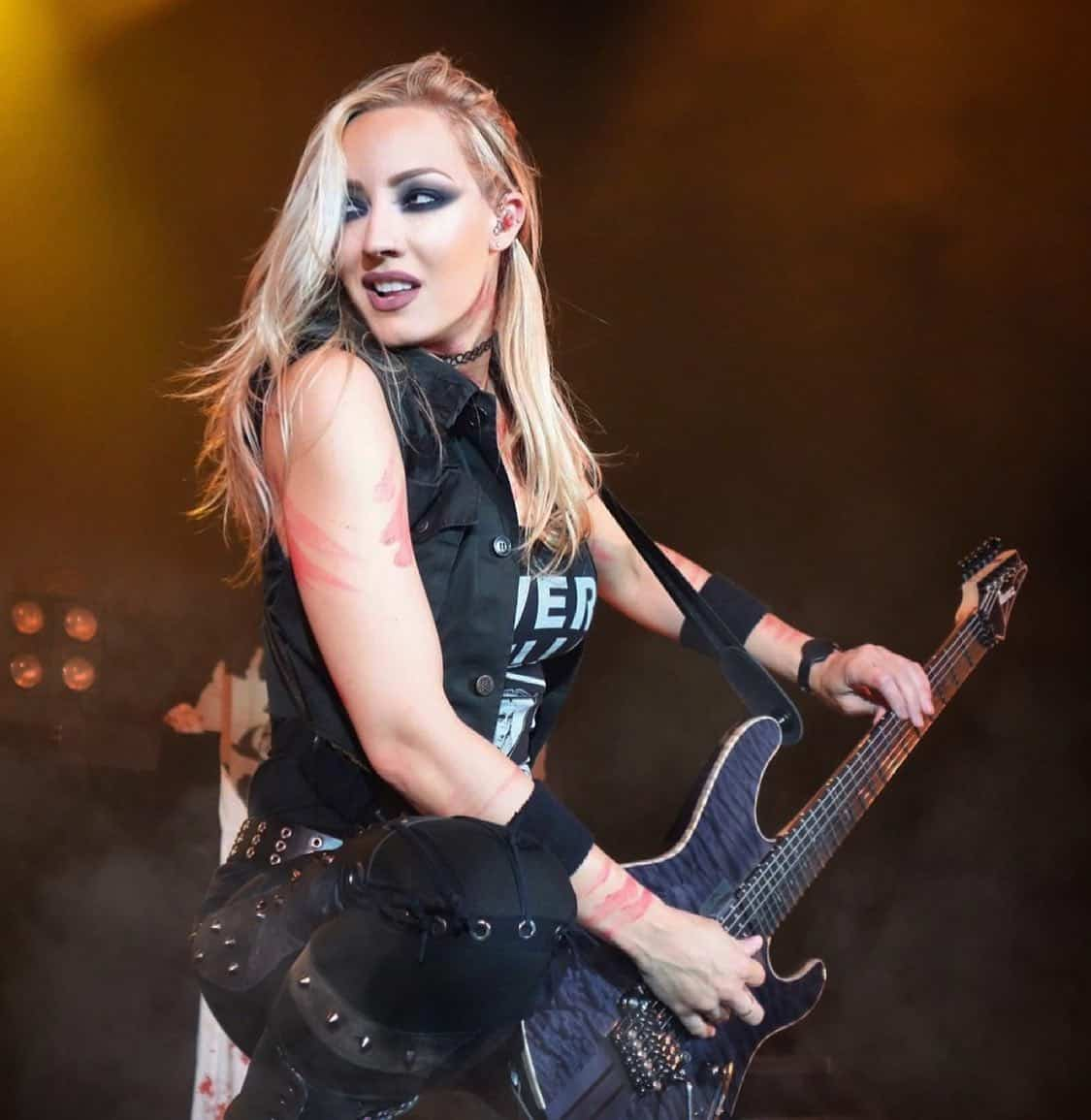 Nita Strauss of Alice Cooper Exemplifies Hired Gun Out of the Shadows, Into the Spotlight (1)