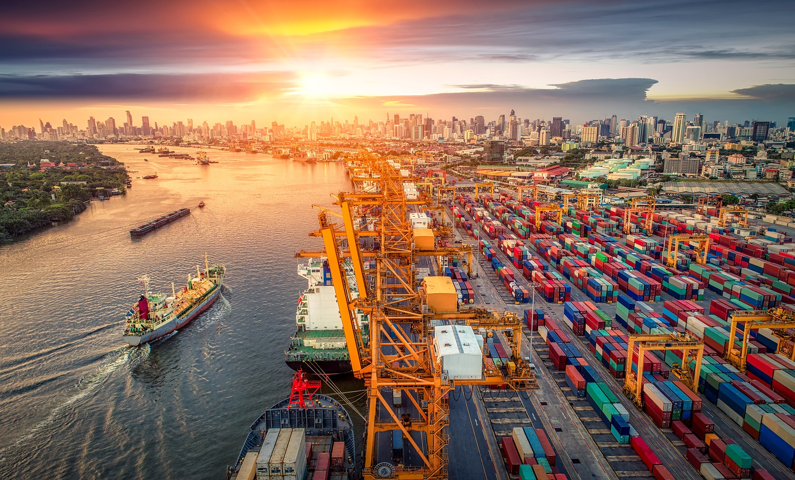 Logistics and transportation of Container